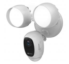 Câmara EZVIZ LC1C Smart Home Security Wi-Fi Two-in-One Outdoor Branca