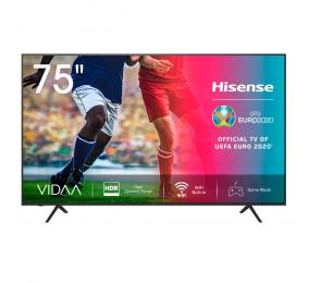 "Televisão Plana Hisense Série A7100F SmartTV 75"" LED 4K UHD"