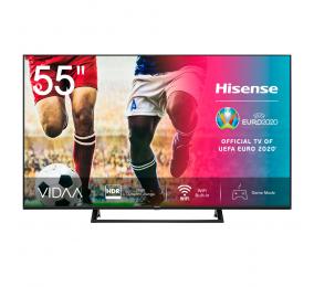 "Televisão Plana Hisense Série A7300F SmartTV 55"" LED 4K UHD"