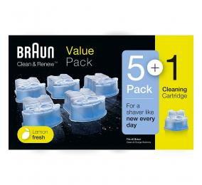 Recargas Braun Clean & Renew CCR5+1