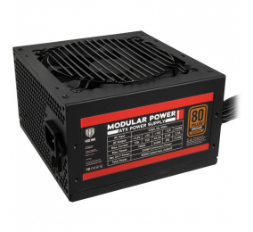 Fonte de Alimentação Kolink 600W Semi Modular 80PLUS Bronze KL-600MV2