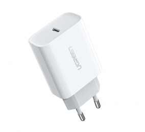 Carregador UGREEN CD137 com Power Delivery 3.0 Quick Charge 4.0+ 18W Branco