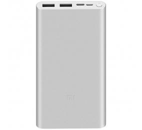 Powerbank Xiaomi Mi 3 10000mAh 18W Fast Charge Prateada