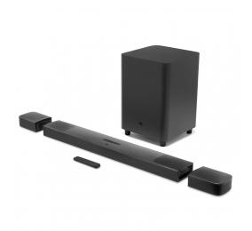 Soundbar JBL Bar 9.1 True Wireless Surround Dolby Atmos 820W Bluetooth Preta