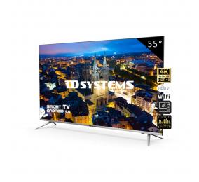 "Televisão Plana TD Systems K55DLJ10US SmartTV 55"" LED 4K UHD Android TV"
