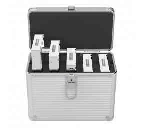"""Mala de Transporte Orico BSC35-05 HDD/SSD 2.5""""/3.5"""" para 5x HDD Cinza"""