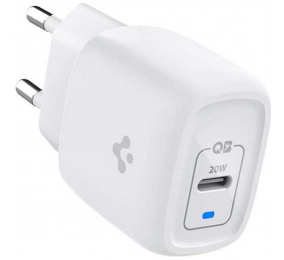 Carregador Spigen PowerArc ArcStation Pro USB-C 20W GaN PD 3.0 Branco