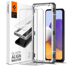 Película de Vidro Temperado Spigen AlignMaster Galaxy A22 5G (2-Pack)