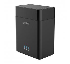 "Caixa Externa 3.5"" Orico DS200C3 SATA I/II/III para USB 3.1 Type-C Preta"