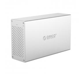 """Caixa Externa 3.5"""" Orico WS200RC3 SATA I/II/III para USB 3.0 Type-C Cinza"""