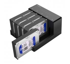 Duplicador Orico 6558US3-C One Key Backup SATA I/II/III para USB3.0 Type-B Preta