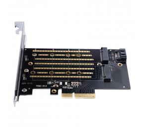 Placa de Expansão Orico PDM2 M.2 NVMe para PCI-E 3.0 X4