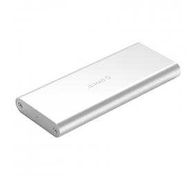 Caixa Externa M.2 Orico M2G-U3 SSD M.2 NGFF USB 3.0 Micro-B Cinza