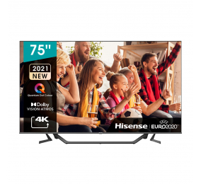 "Televisão Hisense 75A7GQ SmartTV 75"" QLED 4K UHD"