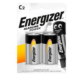 Pilhas Alcalinas Energizer Alkaline Power 1.5V LR14 C (2 Unidades)