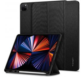 Capa Spigen Urban Fit iPad Pro 12.9 2021 5th Generation com Pencil Holder Preta