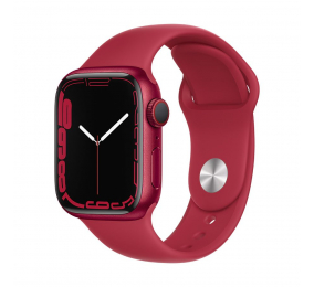 Apple Watch Series 7 GPS+Cellular 41mm Alumínio (PRODUCT)RED c/ Bracelete Desportiva (PRODUCT)RED