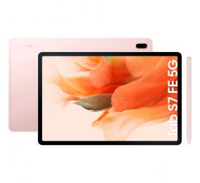 "Tablet Samsung Galaxy Tab S7 FE 12.4"" 6GB/128GB Wi-Fi+5G Mystic Pink"