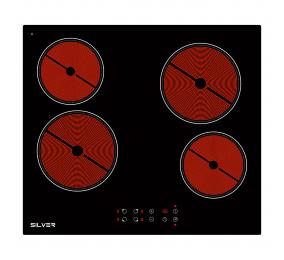 Placa Vitrocerâmica 4 Zonas Silver SKPV4FLK