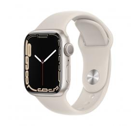 Apple Watch Series 7 GPS 41mm Alumínio Luz das estrelas c/ Bracelete Desportiva Luz das estrelas