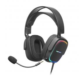 Headset Mars Gaming RGB MHAX Preto