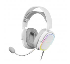 Headset Mars Gaming RGB MHAX Branco