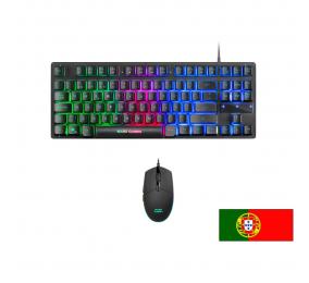 Teclado + Rato Mars Gaming MCPTKL Gaming Combo RGB PT