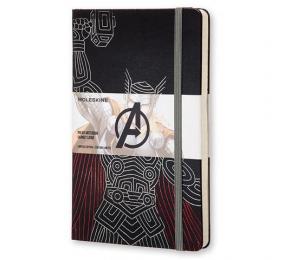 Caderno Grande Pautado Moleskine Os Vingadores - Thor