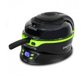 Fritadeira sem Óleo Cecotec Turbo Cecofry 4D 1350W Preta