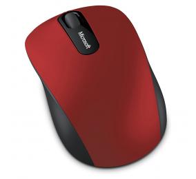 Rato Óptico Microsoft Bluetooth Mobile Mouse 3600 1000DPI Vermelho