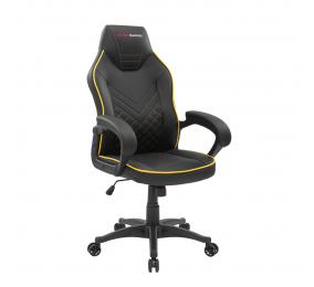 Cadeira Gaming Mars Gaming MGCX One Premium Preta/Amarela