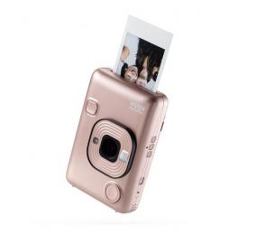 Máquina Fotográfica Instantânea Fujifilm Instax Mini LiPlay HM1 Blush Gold