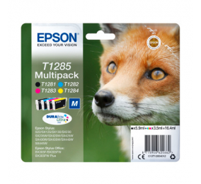 Tinteiro Epson Original Multipack 4 Cores T1285 DURABrite Ultra