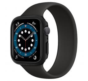 Capa Spigen Thin Fit Apple Watch Series SE / 6 / 5 / 4 44mm Preta