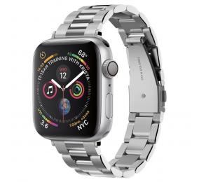 Bracelete Spigen Apple Watch All Series (38mm/40mm) Watch Band Modern Fit Silver