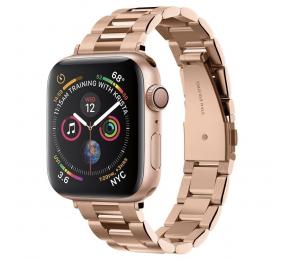 Bracelete Spigen Apple Watch All Series (38mm/40mm) Watch Band Modern Fit Rosa Dourado