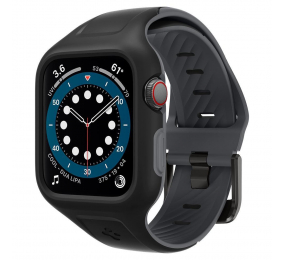 Bracelete Spigen Liquid Air Pro Apple Watch 4/5/6/Se 40mm Preta