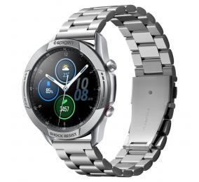 Proteção Spigen Chrono Samsung Galaxy Watch 3 45mm Prateada