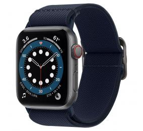 Bracelete Spigen Lite Fit Apple Watch Series SE / 6 / 5 / 4 44mm Azul