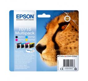 Tinteiro Epson Original Multipack 4 Cores T0715 DURABrite Ultra