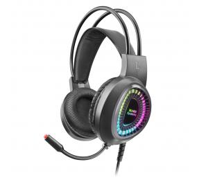 Headset Mars Gaming RGB MH220 Preto