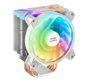Cooler CPU Mars Gaming MCPUX RGB Branco