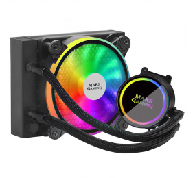 Water Cooler CPU Mars Gaming ML120 RGB 120mm Preto
