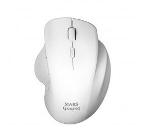 Rato Óptico Mars Gaming MMWERGO 3200DPI Wireless Branco