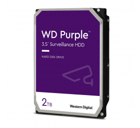 "Disco Rígido 3.5"" Western Digital Purple 2TB 5400RPM 64MB SATA III"