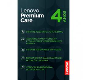 Extensão de Garantia Lenovo Premium Care 4 Anos