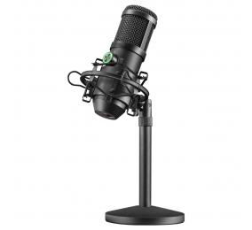 Microfone Mars Gaming MMICX Pro Studio Preto