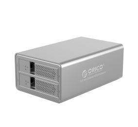"""Caixa Externa 3.5"""" Orico 9528U3 SATA I/II/III para USB 3.0 Type-B Cinza"""