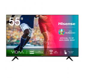 "Televisão Plana Hisense Série A7100F SmartTV 55"" LED 4K UHD"