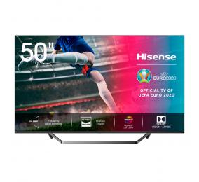 "Televisão Plana Hisense Série U7QF SmartTV 50"" LED 4K UHD"